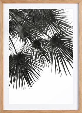 Endless Summer - Wind - Poster in Wooden Frame