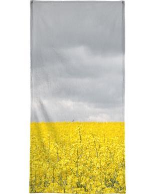 Grey Sky Meets Yellow Fields