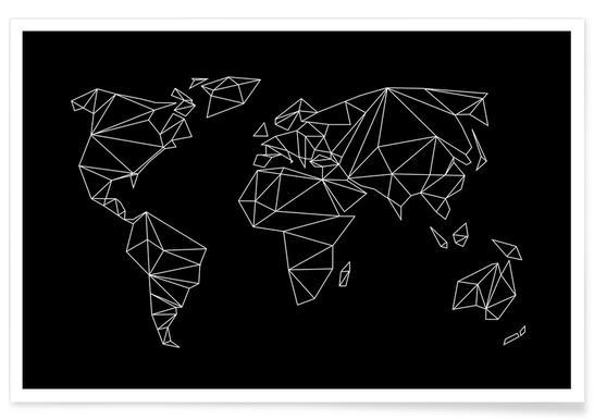 Geometrical World - black