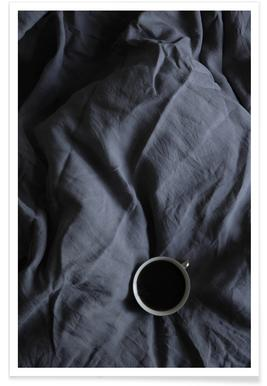 Coffee Time In Bed- Me & You -Poster
