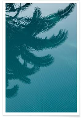 Palms In The Pool -Poster