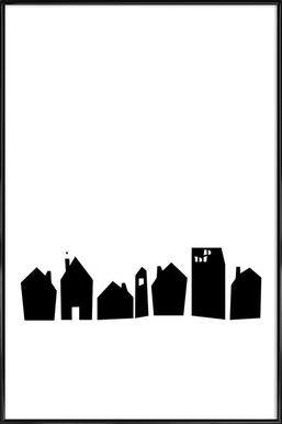 No Place Like Home - Affiche sous cadre standard