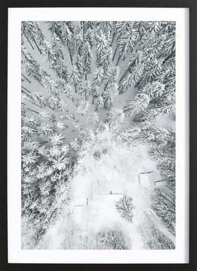 Calm Winter Framed Print