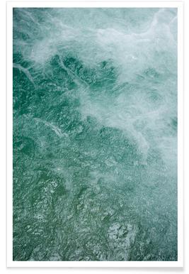 Glacier Water affiche
