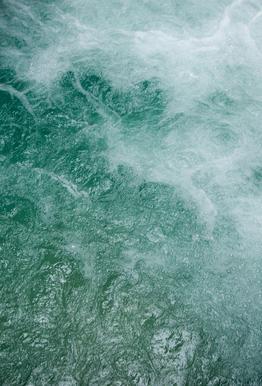 Glacier Water Impression sur alu-Dibond