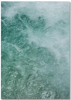 Glacier Water Notepad