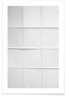Paper Grid - Premium poster