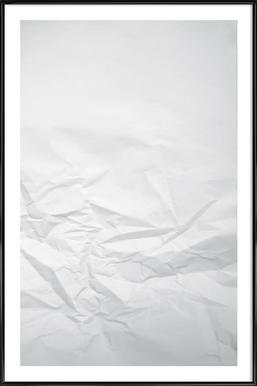Paper Landscape -Bild mit Kunststoffrahmen