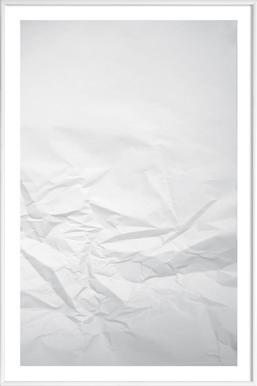 Paper Landscape - Poster in kunststof lijst