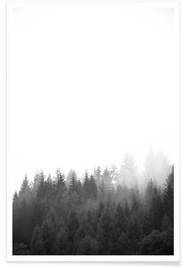 Walk Through The Forest - Premium Poster