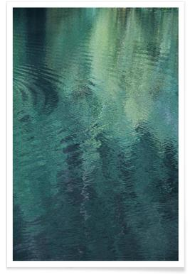 Forest In The Lake Poster
