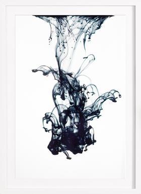 Sudden Movement - Poster in houten lijst