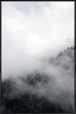 Above Clouds - Poster in Standard Frame