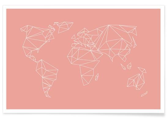 Geometrical World Blush