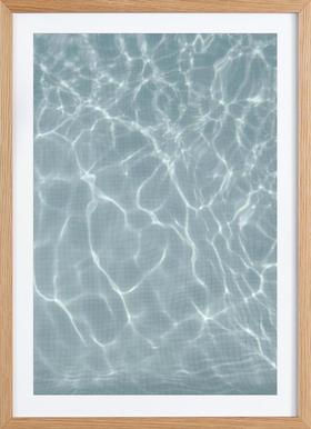 Endless Summer - Poster in Wooden Frame