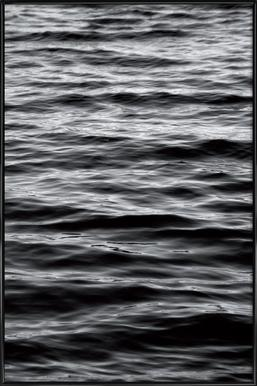 Black Ocean - Affiche sous cadre standard