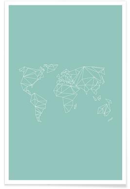 Geometrical World Green 2