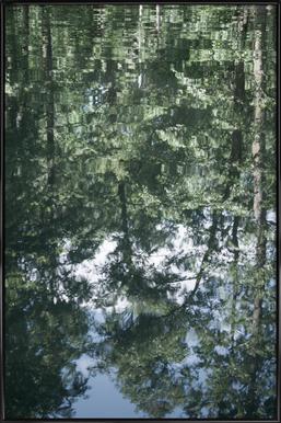 Upsidedown -Bild mit Kunststoffrahmen