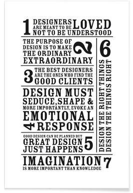 7 Rules -Poster