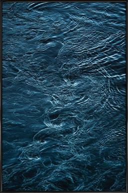 The Waves In Between - Poster in Standard Frame