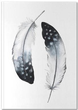 Feathers I Notebook