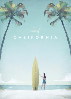 California Canvas Print