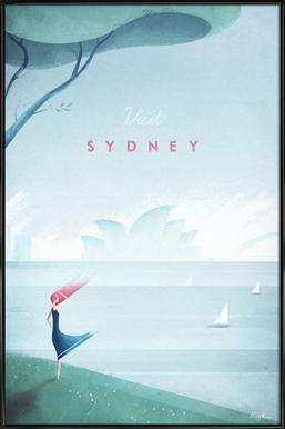 Sydney Poster i standardram