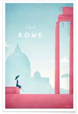 Rome vintage - Voyage affiche