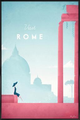 Rome affiche encadrée