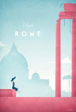 Rome acrylglas print