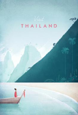 Thailand Aluminium Print