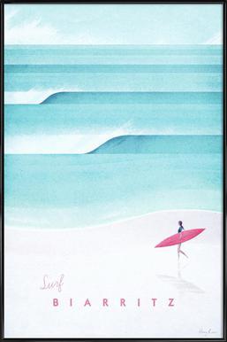 Biarritz Framed Poster