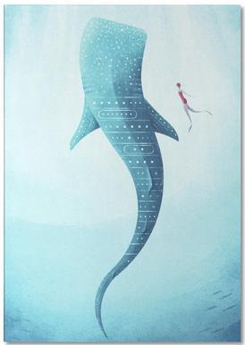 Whale Shark Notepad