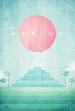Mexico acrylglas print