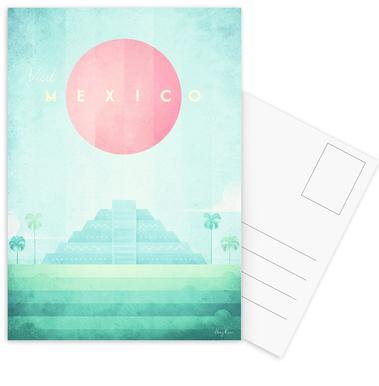 Mexico cartes postales