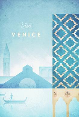 Venice -Acrylglasbild