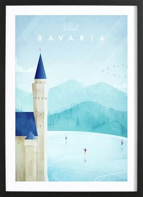 Bavaria ingelijste print