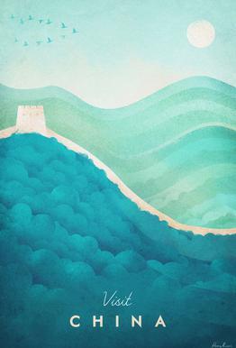 China acrylglas print