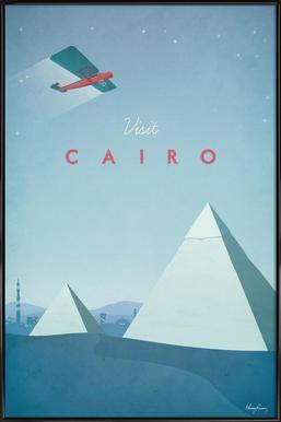 Cairo - Affiche sous cadre standard