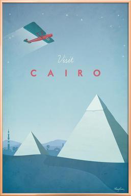 Cairo Poster in Aluminium Frame