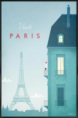 Paris affiche encadrée