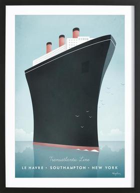Cruise Ship Framed Print