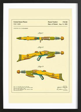 Disintegrator Rifle Framed Print