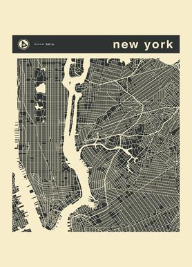 City City Maps Series 3s Series 3 - New York