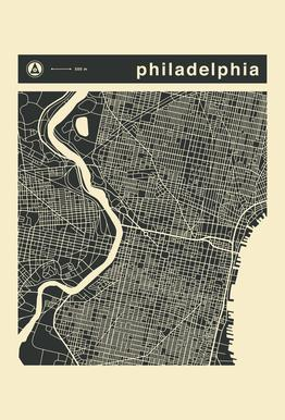 City Maps Series 3 Series 3 - Philadelphia
