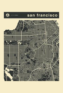City Maps Series 3 Series 3 - San Francicso