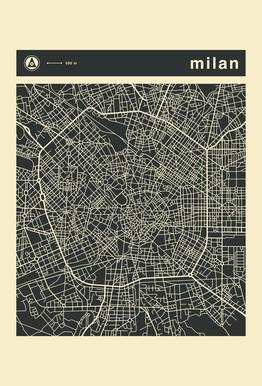 City Maps Series 3 Series 3 - Milan