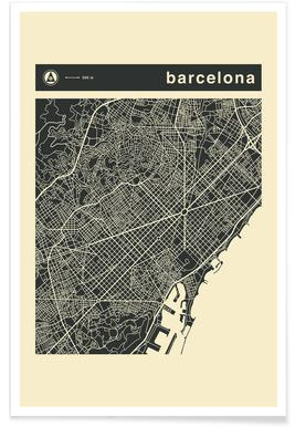 City Maps Series 3 Series 3 - Vienna Poster | JUNIQE