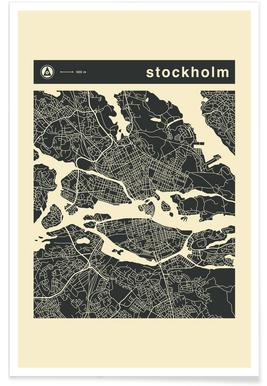 City Maps Series 3 Series 3 - Stockholm