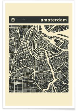 City Maps Series 3 Series 3 - Amsterdam poster